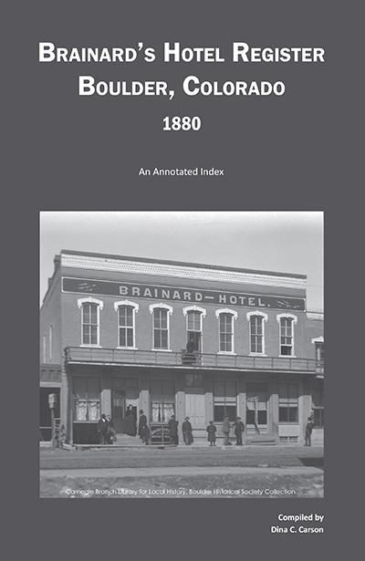 Brainard's Hotel Register 1880