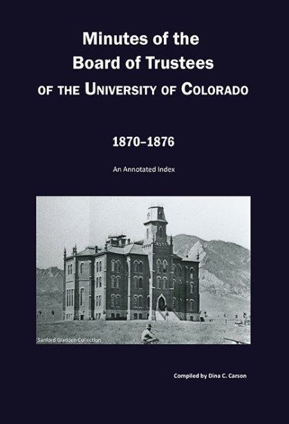 CU Trustees Minute Book